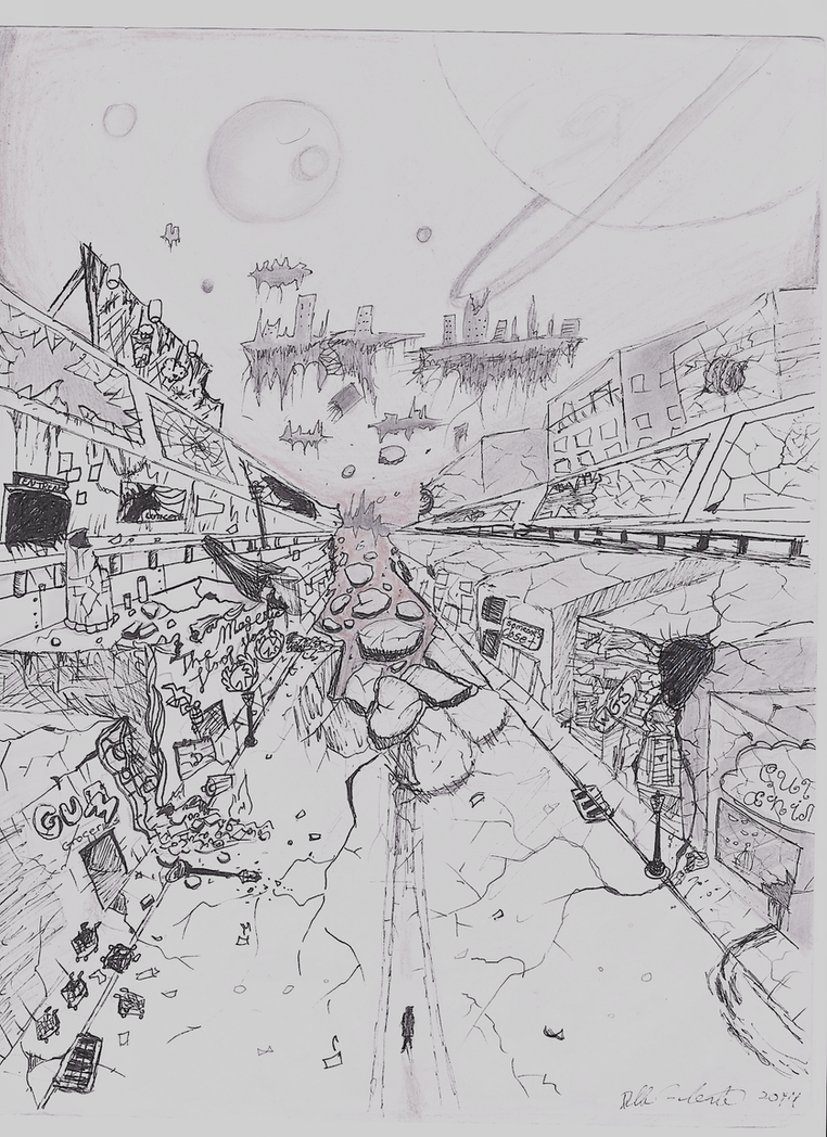 City Ruin by PeloidVoid