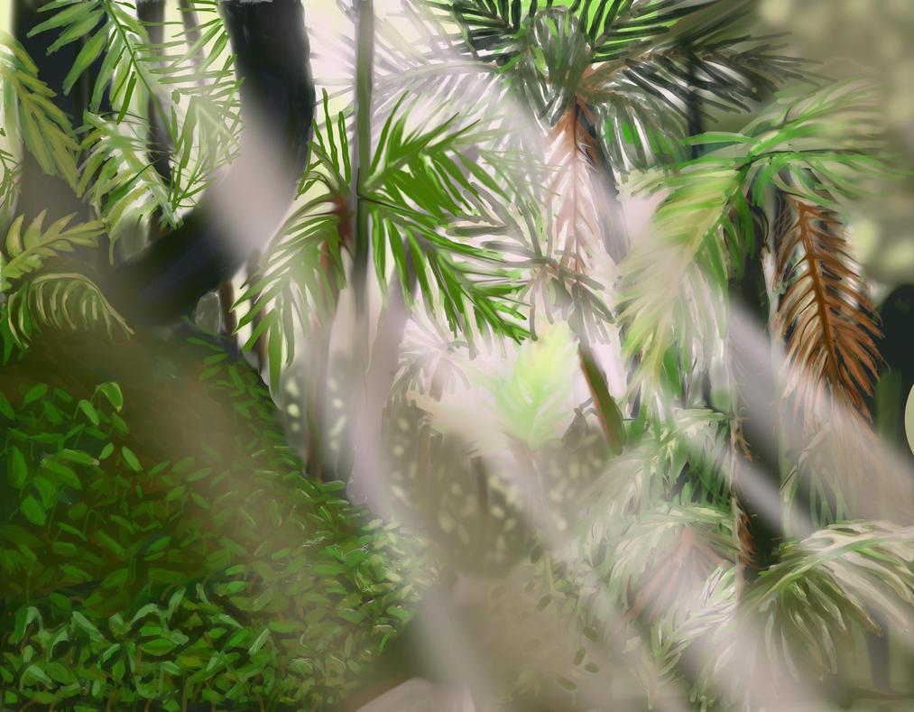 tropical scenery by PeloidVoid