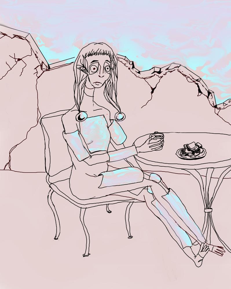 Coffee Break by PeloidVoid