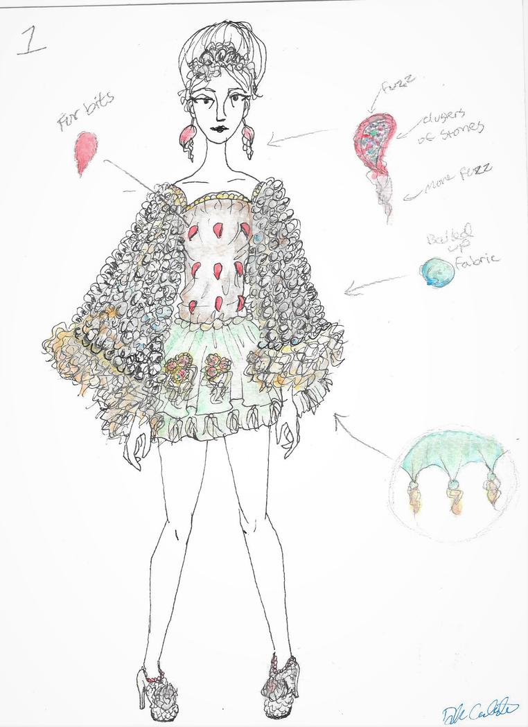 Fashion Sketch by PeloidVoid