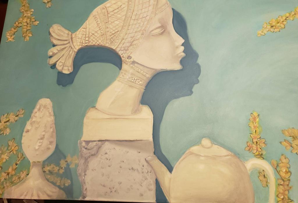 Still Life Oil Painting  by PeloidVoid