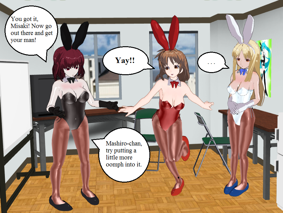 Sakurasou no Pet na Kanojo Girls Bunnies by quamp