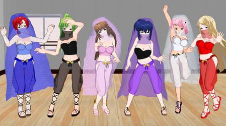 Kyouiku Shido Girls Belly Dancers