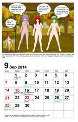 September Calendar 2014 by quamp