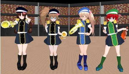 Angelic Saga Marching Band