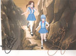 Hikari and Rei Autographed by quamp