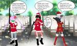 Night Raid Bad Santas Helpers by quamp