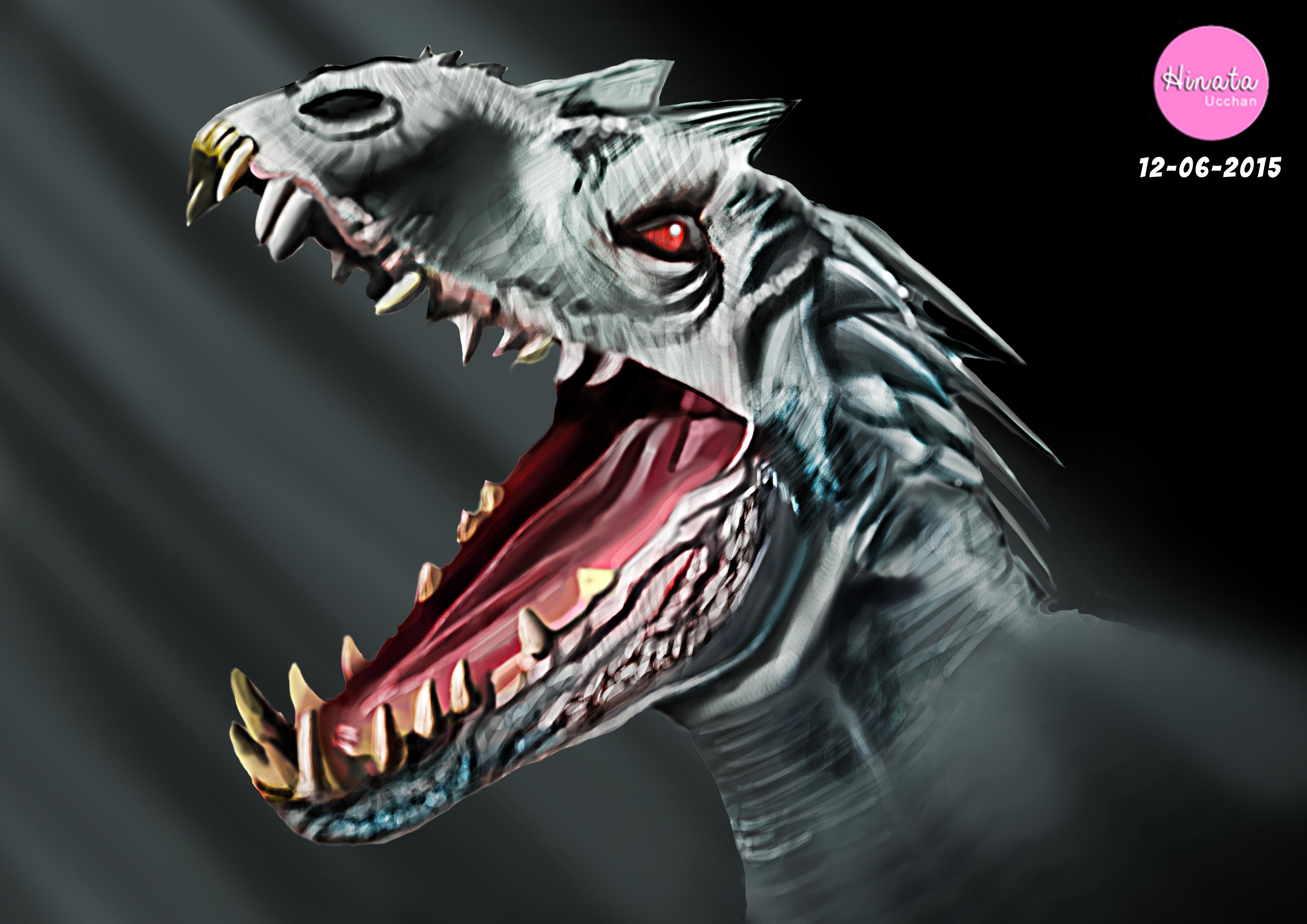 Indominus Rex By Hinataucchan On Deviantart