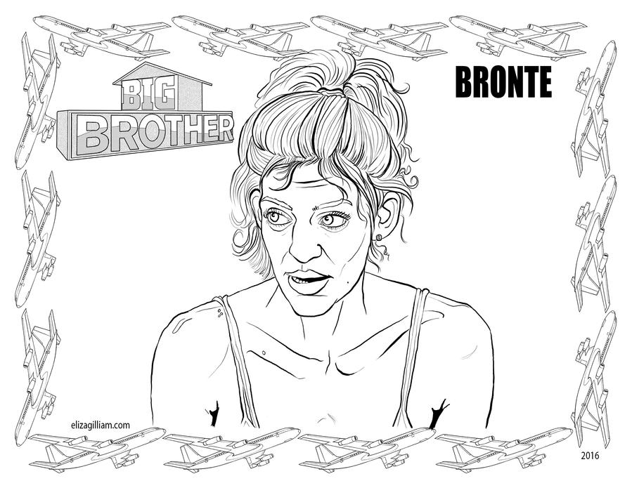 big brother coloring pages - photo#12