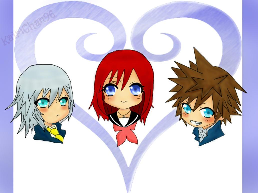 Kingdom Hearts School by KairiChan96