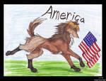 Hetalia America Wolf Style