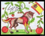 Hetalia Spain Wolf Style