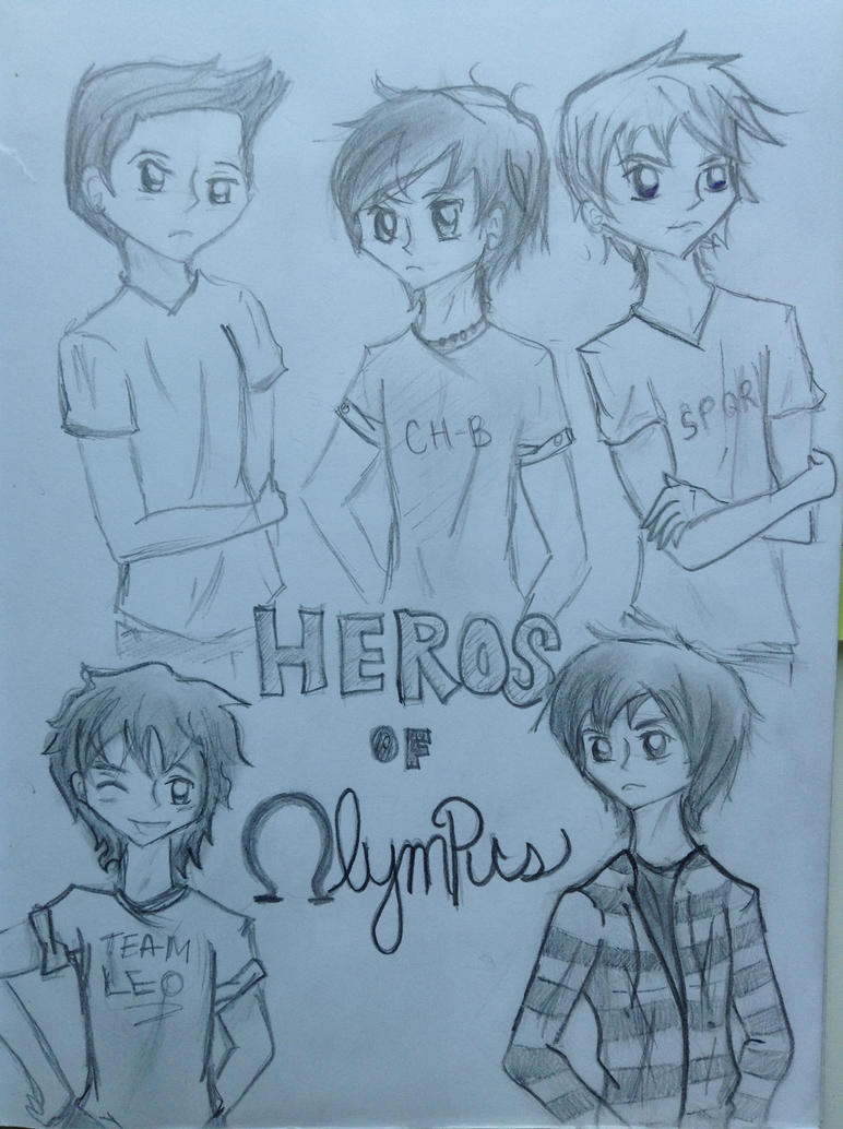 Heroes of olympus by TurtleAttacksTomato