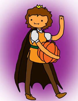 New Adventure Time OC- Pumpkin Princess!