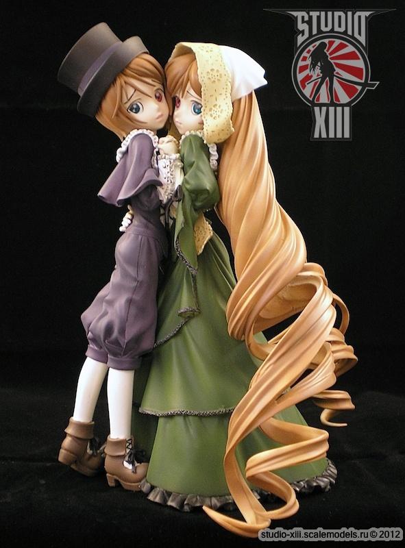 Souseiseki and Suiseiseki, Rozen Maiden garage kit by Michael-XIII