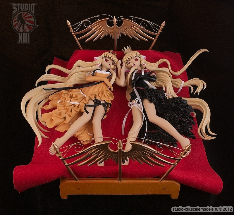 Garage KitChii Pair Set Bed Version, anime Chobits by Michael-XIII