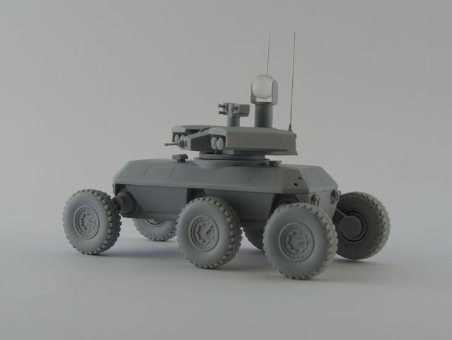 1/35 ARV-AL XM1219 Armed Robotic Vehicle Resin Kit by Michael-XIII