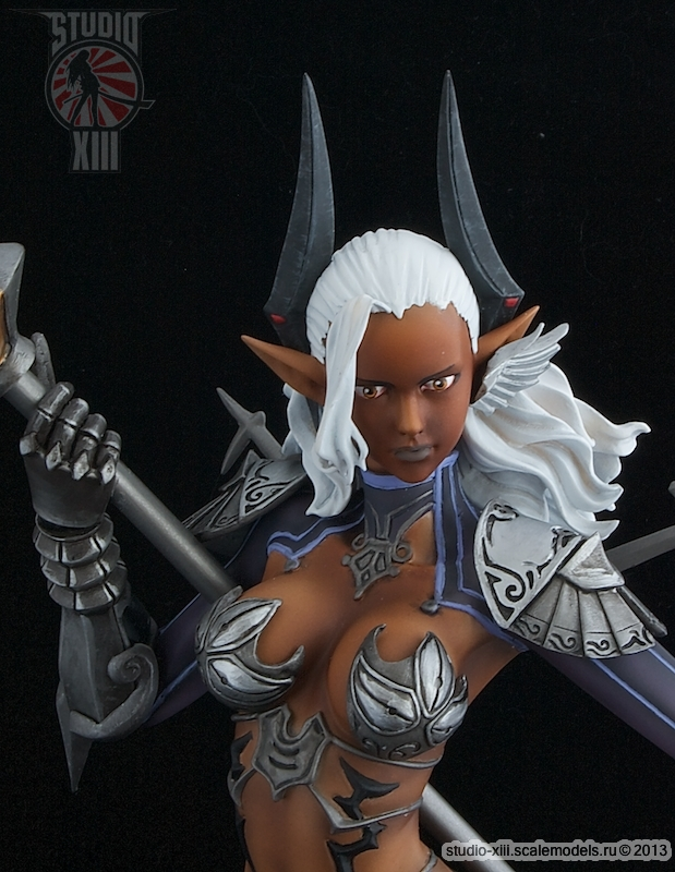 Castanic garage kit, TERA - close view by Michael-XIII
