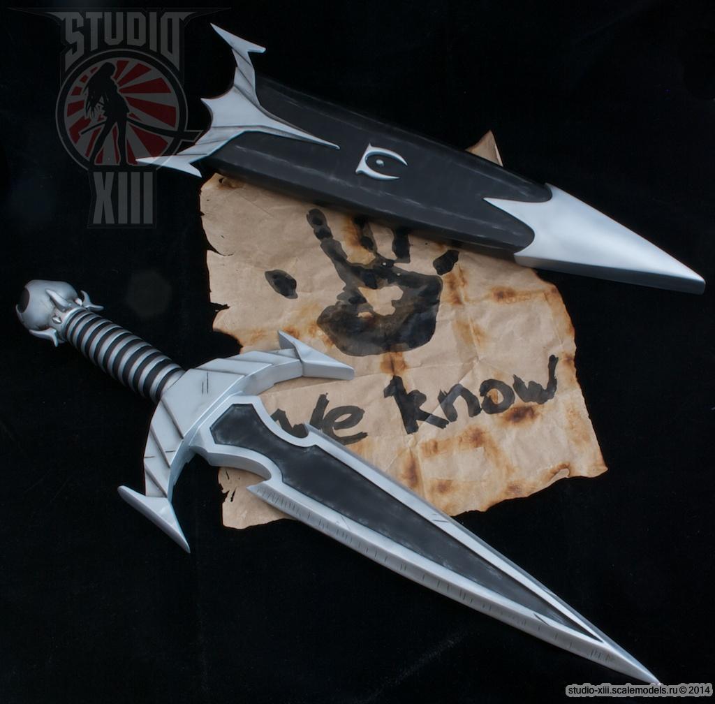 Mehrune's Razor Replica - nude blade by Michael-XIII