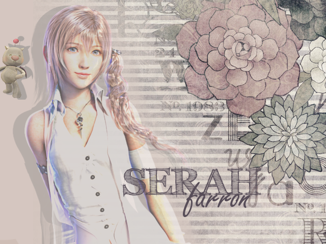 Serah Farron Wallpaper by H4NA