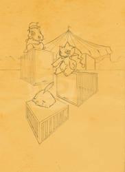 Circus_Pokemon Freaks by AppleLove