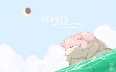 PokemonxHeroes Parody by AppleLove