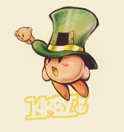 Art Trade: Magician Kirby by AppleLove