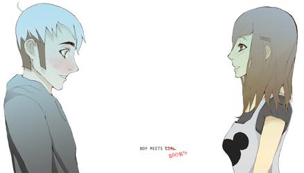 Boy Meets Girl by AppleLove