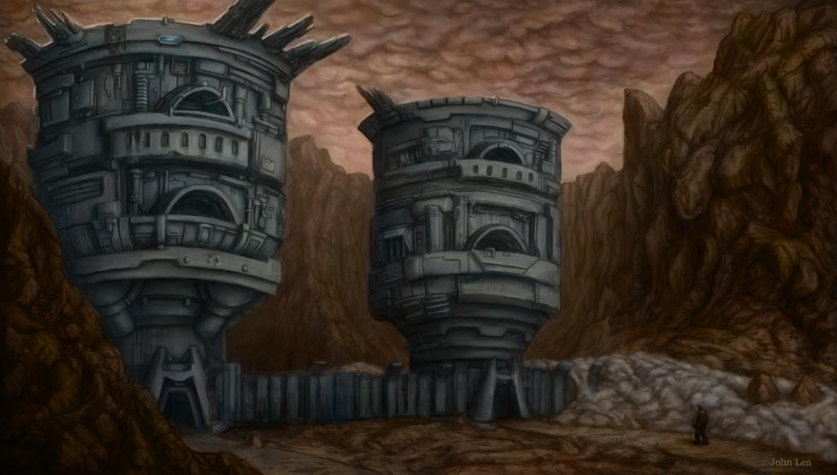 Drum Towers by johnlea