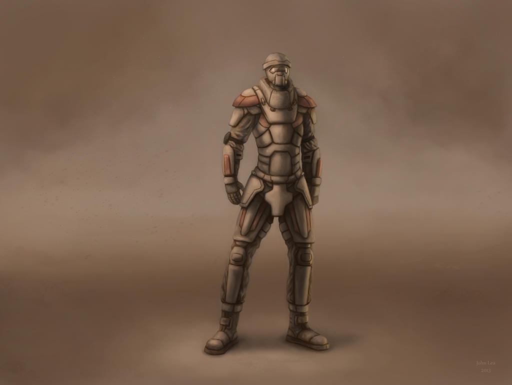 Dark Soldier Captain by johnlea on deviantART