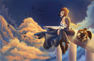 Elizabeth and  Songbird by Lyraphine