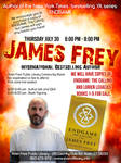 James Frey @ The Library