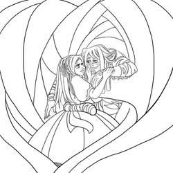 Alice lineart by Dedasaur