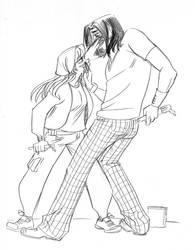 Contemporary Kane and Castalia by Dedasaur