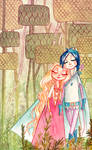 Robin Hood - Lio and Foxy by Dedasaur