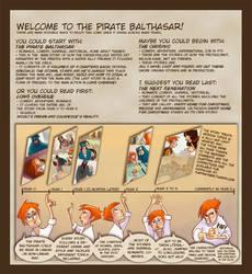 The Pirate Balthasar - Webcomic - Intro by Dedasaur