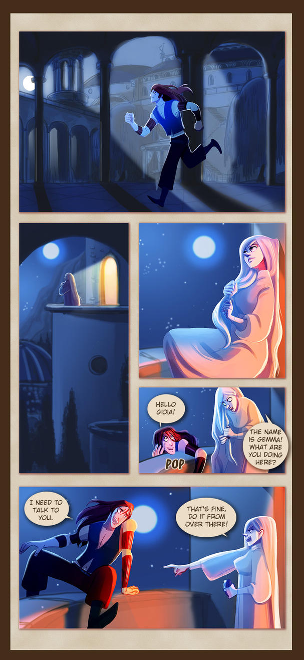 Webcomic - TPB - Chapter 8 - Page 3 by Dedasaur