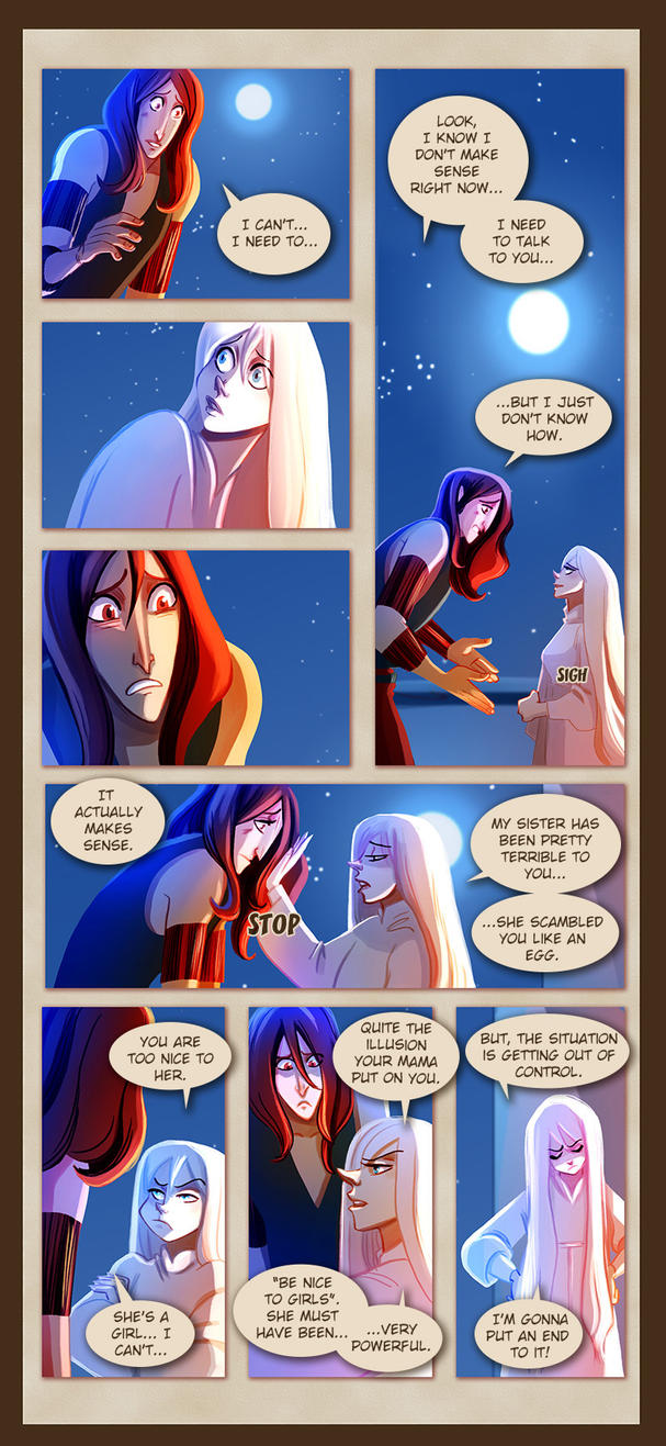 Webcomic - TPB - Chapter 8 - Page 4 by Dedasaur