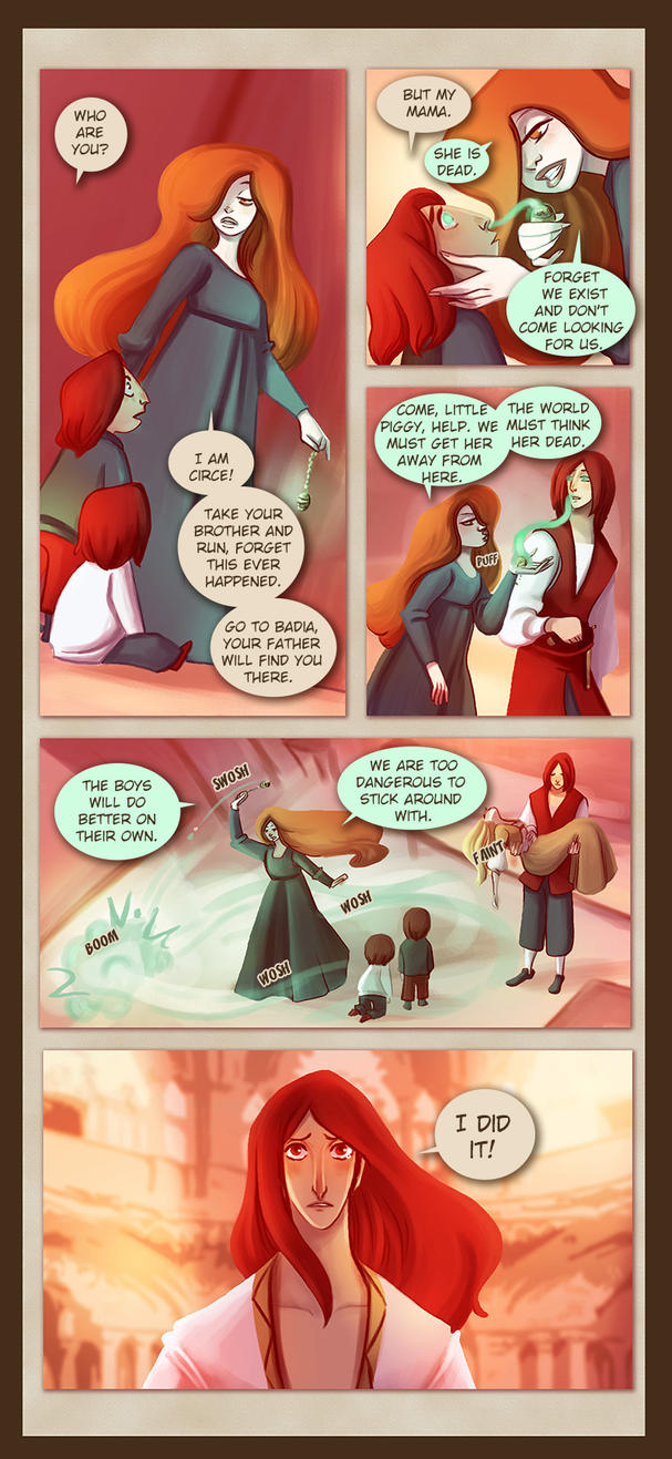Webcomic - TPB - Chapter 10 - Page 17 by Dedasaur