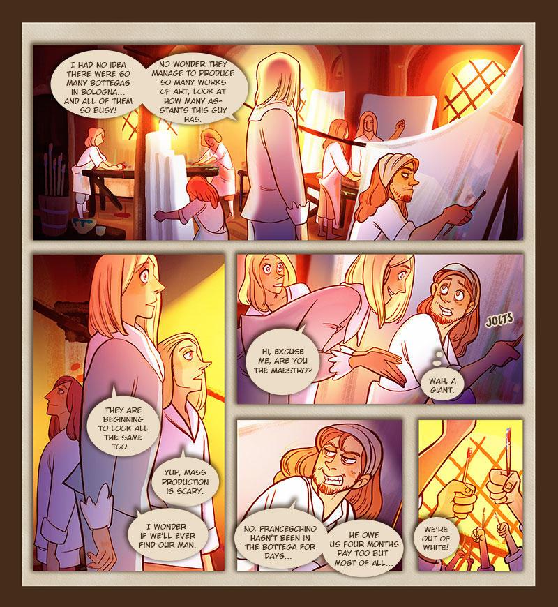 TPB - Murder in Bologna - Page 09 by Dedasaur
