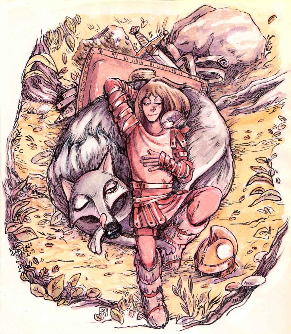 The Mark of Cain - Arthur and the Wolf by Dedasaur on ...