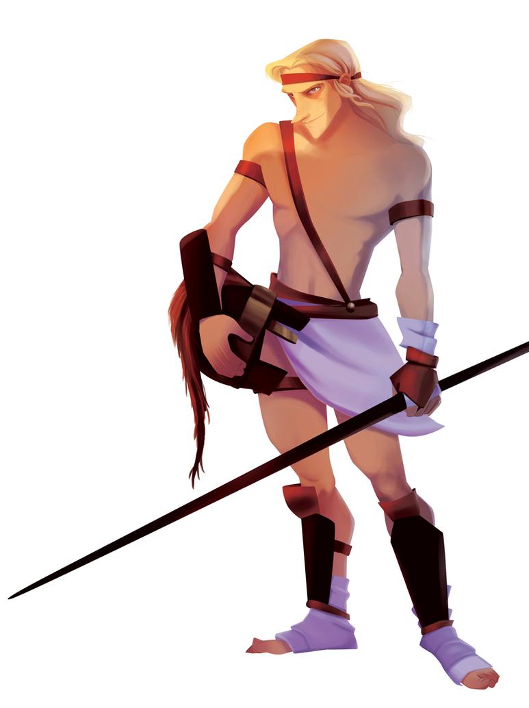 The Mark of Cain - Achilles by Dedasaur on DeviantArt