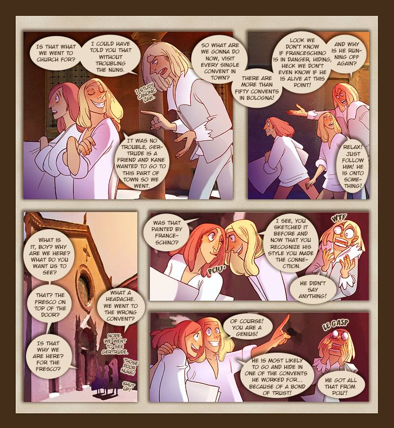 TPB - Murder in Bologna - Page 31 by Dedasaur