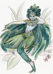 TPB - Harpie - Sketch 1 by Dedasaur