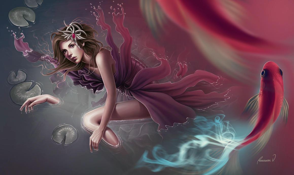 BREATHE UNDERWATER by tincek-marincek
