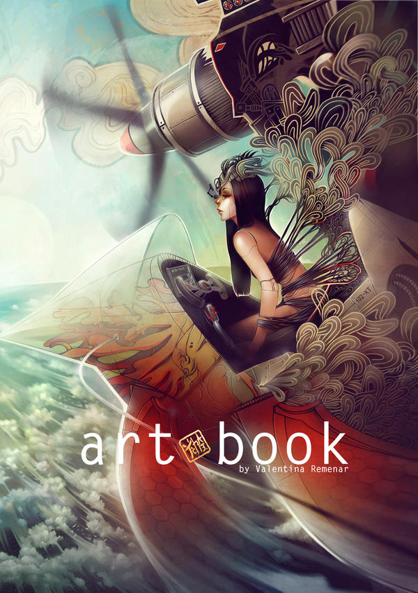 Book Cover Art Commission : Art book cover design by valentina remenar on deviantart