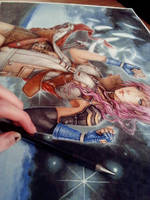 Lightning...WIP shot by Valentina-Remenar