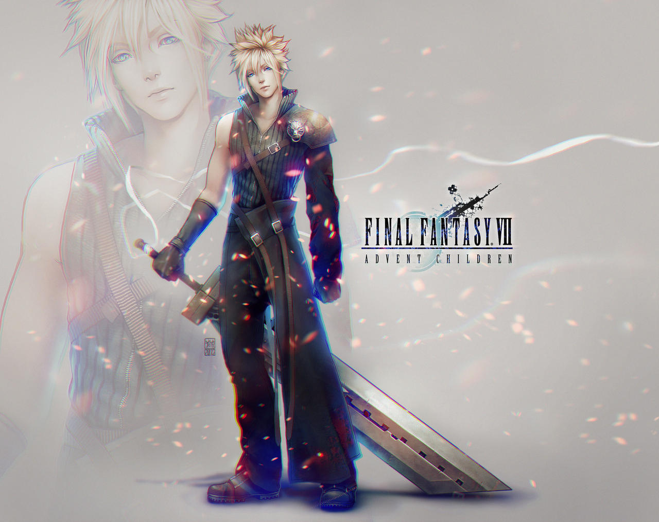 Cloud Strife Design by tincek-marincek