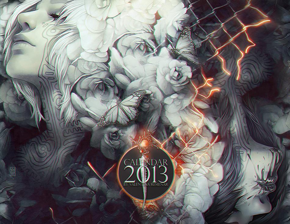+CALENDAR 2013+ by tincek-marincek