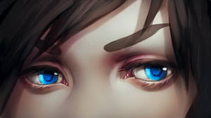 Painting anime eye...drawing